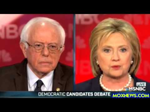 2016 Democratic Presidential Debate In New Hampshire pt.1