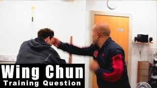 Wing Chun training - wing chun how to destroy the boxer continued Q36 - A