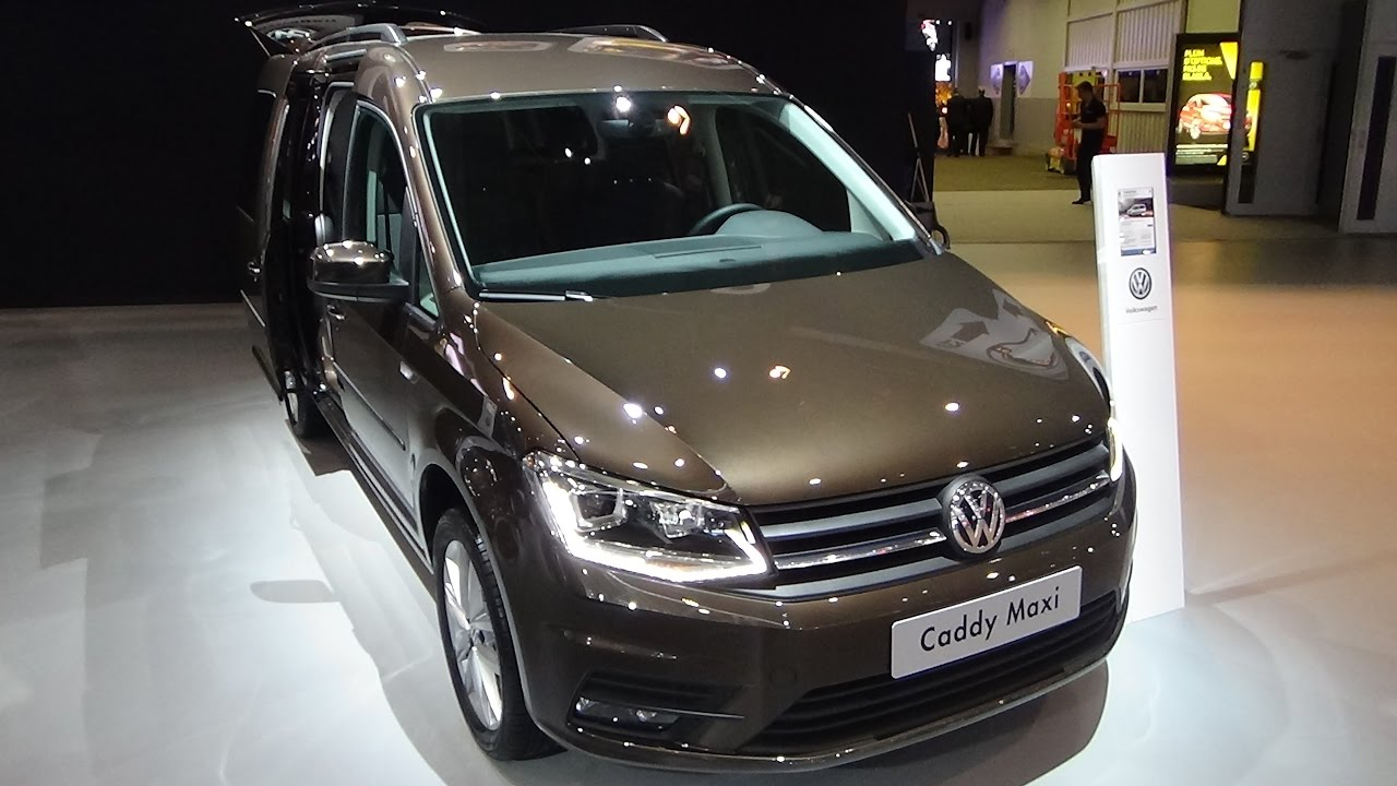 2017 volkswagen caddy maxi exterior and interior auto show brussels 2017 youtube. Black Bedroom Furniture Sets. Home Design Ideas