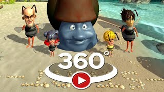 VR Funny Racing vr 360 cartoon vr movies vr for kids
