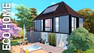 💡 modern eco family home 💡 // the sims 4: speed build