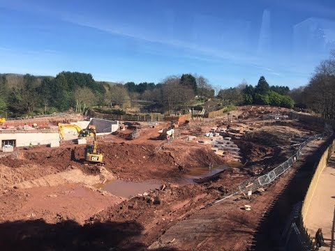Alton Towers SW8 Construction Update - 27th March 2017