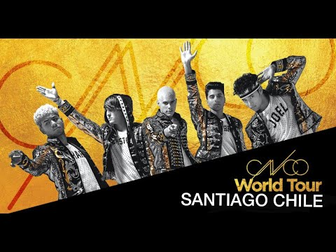 CNCO WORLD TOUR COMPLETO - Santiago Chile 09/12/2018