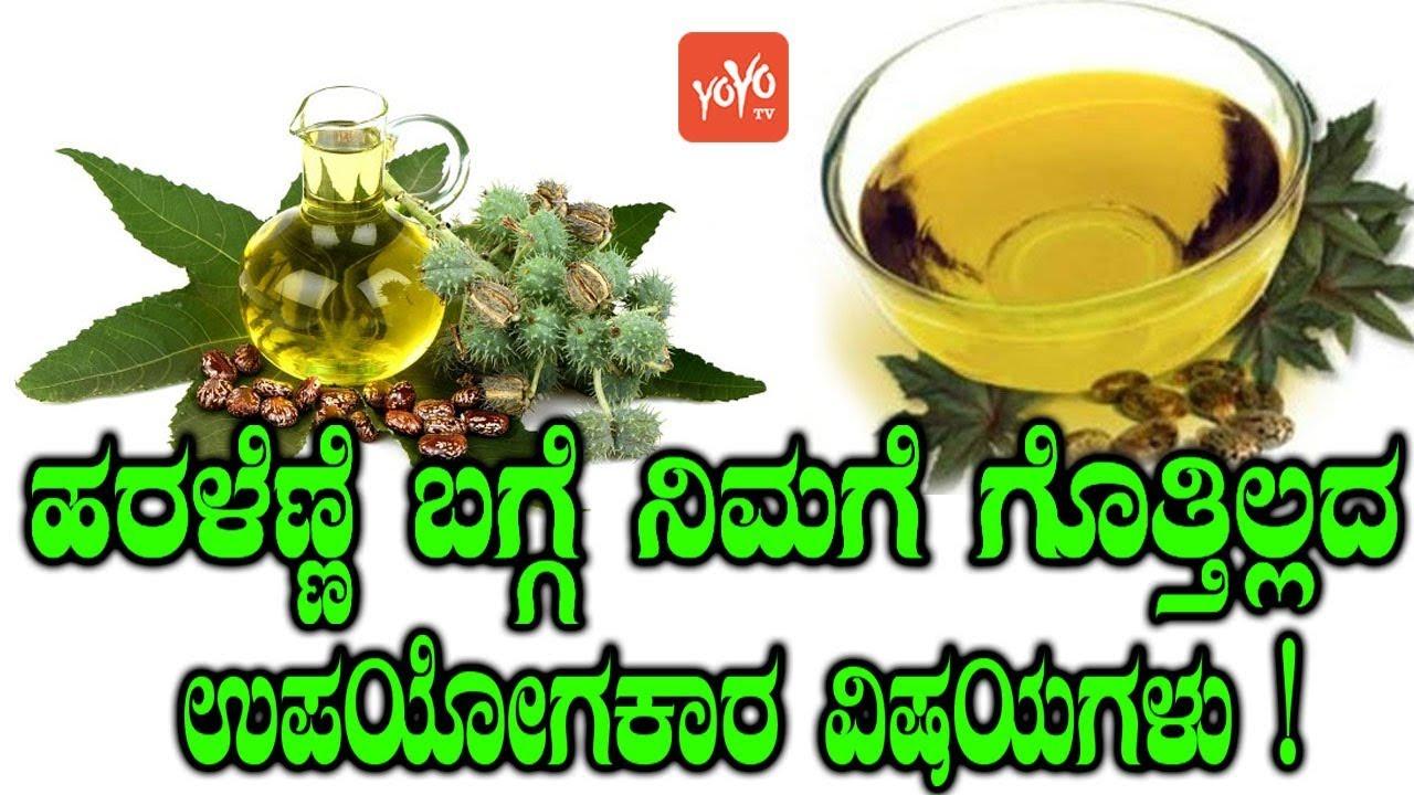 ಹರಳೆಣ್ಣೆ ಬಗ್ಗೆ ನಿಮಗೆ ಗೊತ್ತಿಲ್ಲದ ಉಪಯೋಗಕಾರ ವಿಷಯಗಳು ! amazing benefits of  castor oil yoyo tv kannada