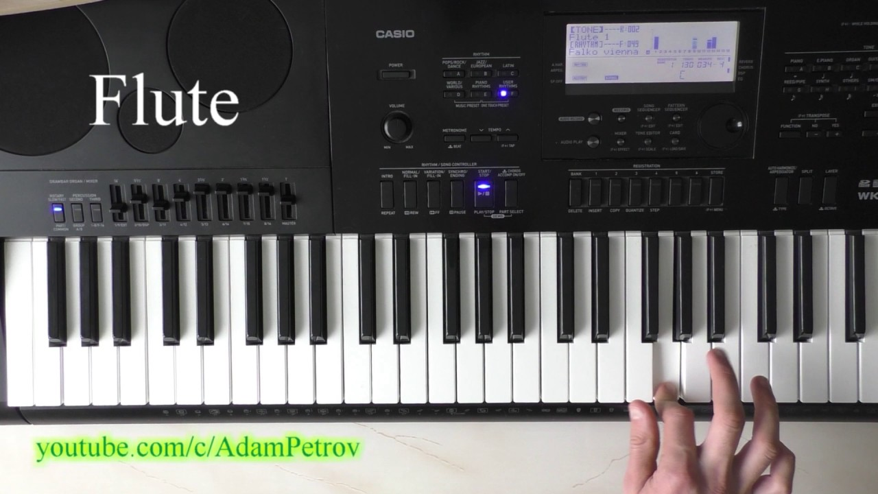falco vienna calling piano tutorial cover youtube. Black Bedroom Furniture Sets. Home Design Ideas