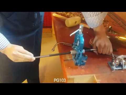saxophone repair tools -saxophone neck dent repair 103