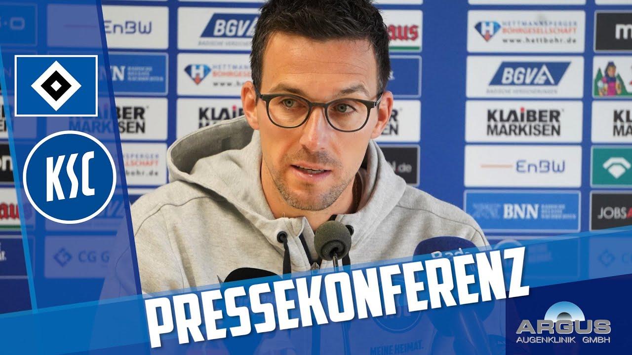 KSC-Pressekonferenz vor Hamburg (21. Spieltag)