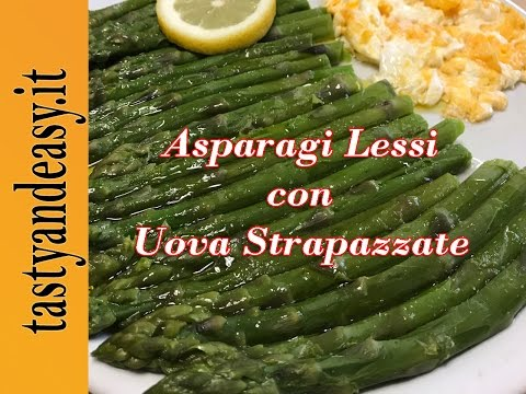 asparagi-lessi-con-uova-strapazzate---boiled-asparagus-with-scrambled-eggs