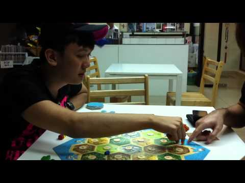 The Day without CB Jolene : Gerald teach ppl how to play Catan !!!