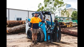Toyota Huski Carving Through Timber Business' Workload