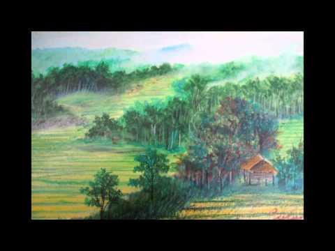 วาดภาพสีชอคล์เทียน