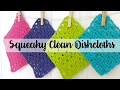 Episode 93: How To Crochet Sparkling Clean Dishcloths