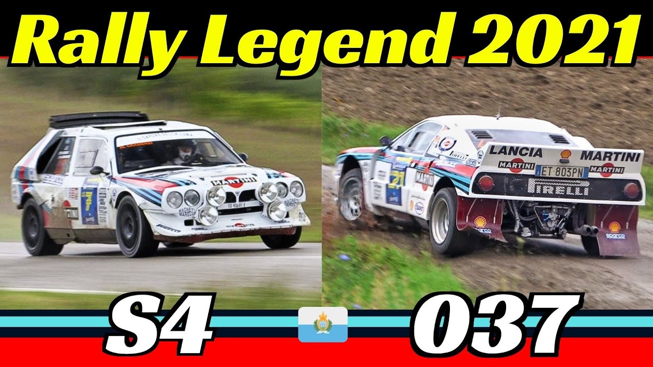 Lancia Delta S4 & Rally 037 Group B - Rally Legend 2021 San Marino - Actions, Pure Sound & Flames!