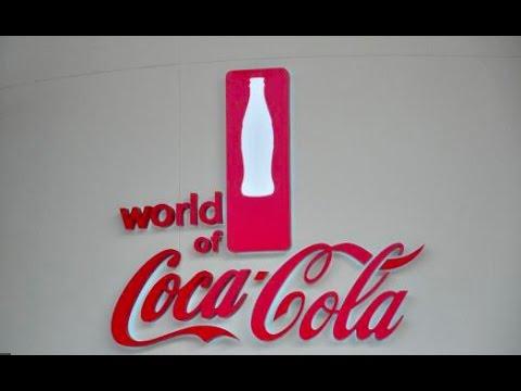 The world of Coca Cola in Atlanta