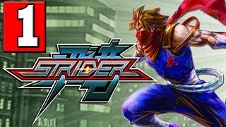 "STRIDER: 2014 Gameplay Walkthrough Part 1 [Introduction Prologue] HD XBOX ONE PS4 PC ""STRIDER PS4"""