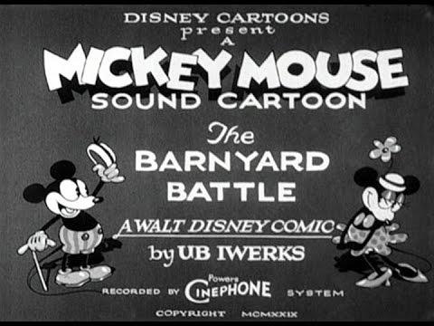 The barnyard battle мультфильм 1929