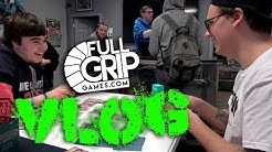Natalie and Andrew Tournament Vlog at Full Grip Games!