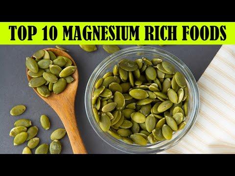 Top 10 Magnesium Rich Foods ---Foods High in Magnesium