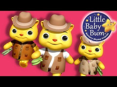Three Little Kittens | Part 3 | Nursery Rhymes | By LittleBabyBum!