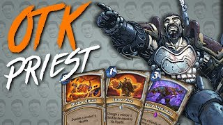 84 DMG COMBO!?!? OTK Priest - Standard Constructed - The Witchwood