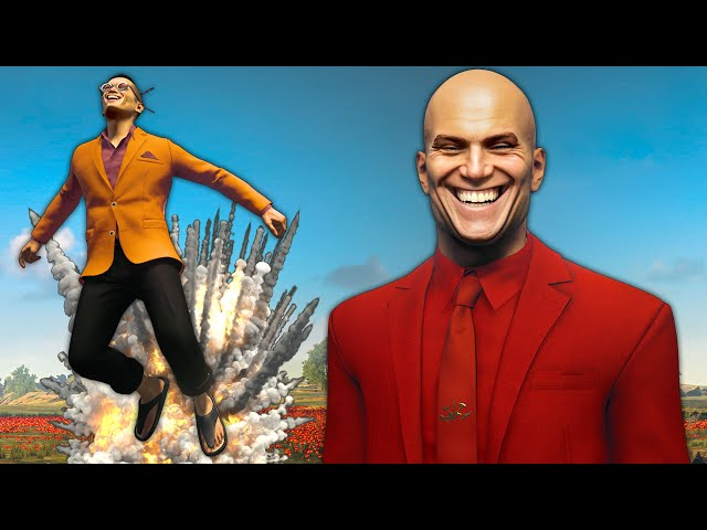 They Sent Me to England to Teach People to Fly - Hitman 3