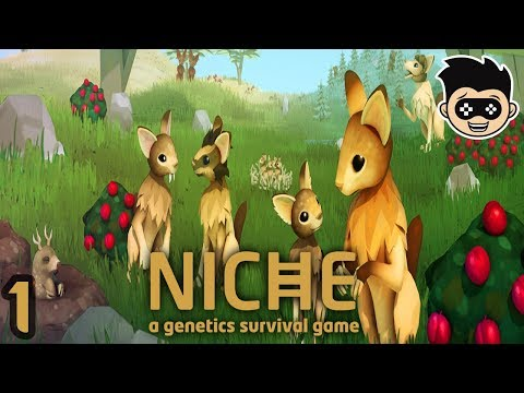 Let's Play Niche - A Genetics Suvival Game #1 - ADAM & EVE | Let's Play Niche Gameplay