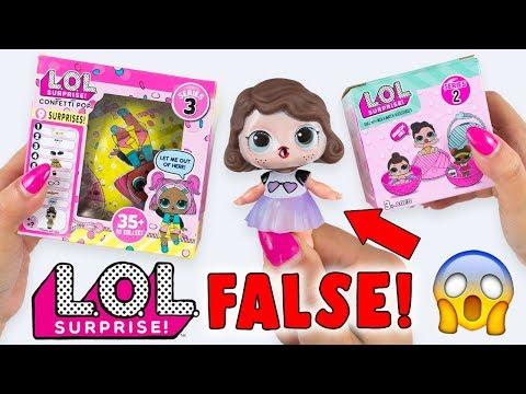 LOL Surprise FALSE trovate in EDICOLA!! NON CI CREDO!