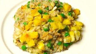 Salmon Rice Bake - Recipe