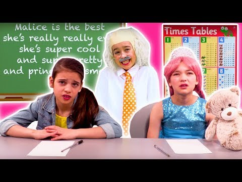 DETENTION AT PRINCESS SCHOOL 🏫 Malice Is The Teacher! - Princesses In Real Life | Kiddyzuzaa