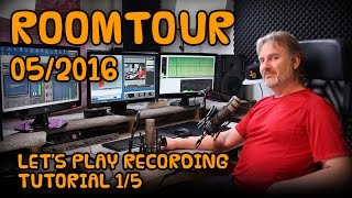 Let's Play Recording Tutorial [01] [ROOMTOUR 05/2016] [Rode NT1A vs. Procaster] [Deutsch German] thumbnail