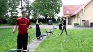 Enorm in Form mit Run Archery