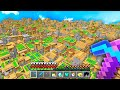 I spawned 1,000,000 Villages in Minecraft UHC