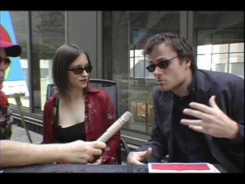 """German Filmmaker Lancelot von Naso  """"Ceasefire""""Montreal Film Fest '09 w/Tamara Scherbak"""