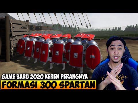 GAME BARU 300 SPARTAN LEONIDAS BISA BIKIN FORMASI KEREN BANGET - SHIELDWALL INDONESIA - 동영상
