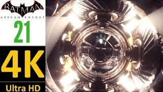 4K-Batman Arkham Knight(World Record):Part 21-Remote Electrical Charge(Hard/No Damage/No Upgrades).