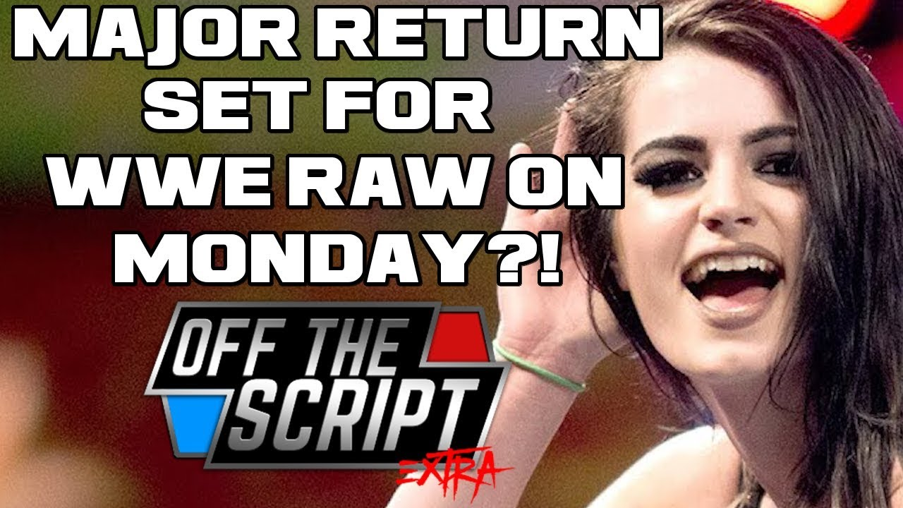 Is Paige Set To Make Major Return On Wwe Raw This Monday Off The