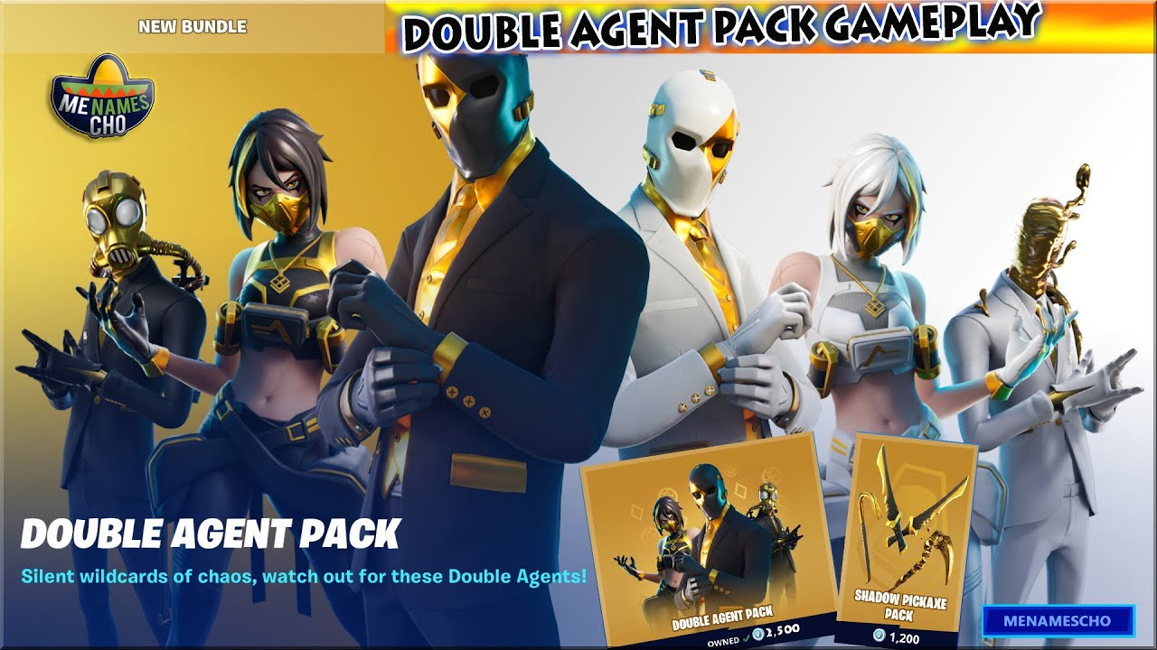 ?FORTNITE ITEM SHOP UPDATE ? Double Agent Pack Gameplay - 9th July 2020 (Fortnite Battle Royale)
