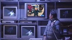 Die Live-Übertragung der Olympiade wurde mit ihm besonders! Der Kleiner leckte die Kamera ab!
