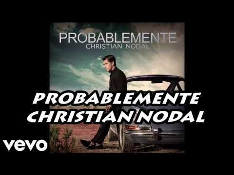 Karaoke Acústico Piano - Probablemente - Christian Nodal