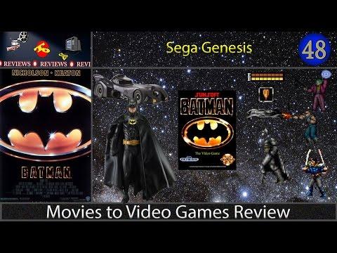 Movies to Video Games Review -- Batman (Sega Genesis)