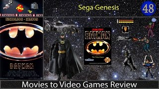 Movies to Video Games Review -- Batman (Sega Genesis)