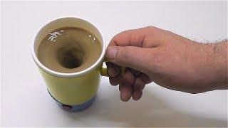 Как сделать кофемешалку Кружка миксер для чая кофе какао