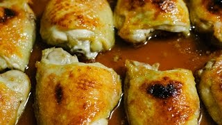 Baked Caramelized Chicken