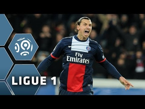 Zlatan Ibrahimovic's STUNNING free kick (86') - PSG - FC Sochaux-Montbéliard (5-0) - 07/12/13