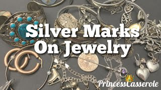 Silver Markings on Jewelry (Sterling Silver Markings) | What They Mean (2019)