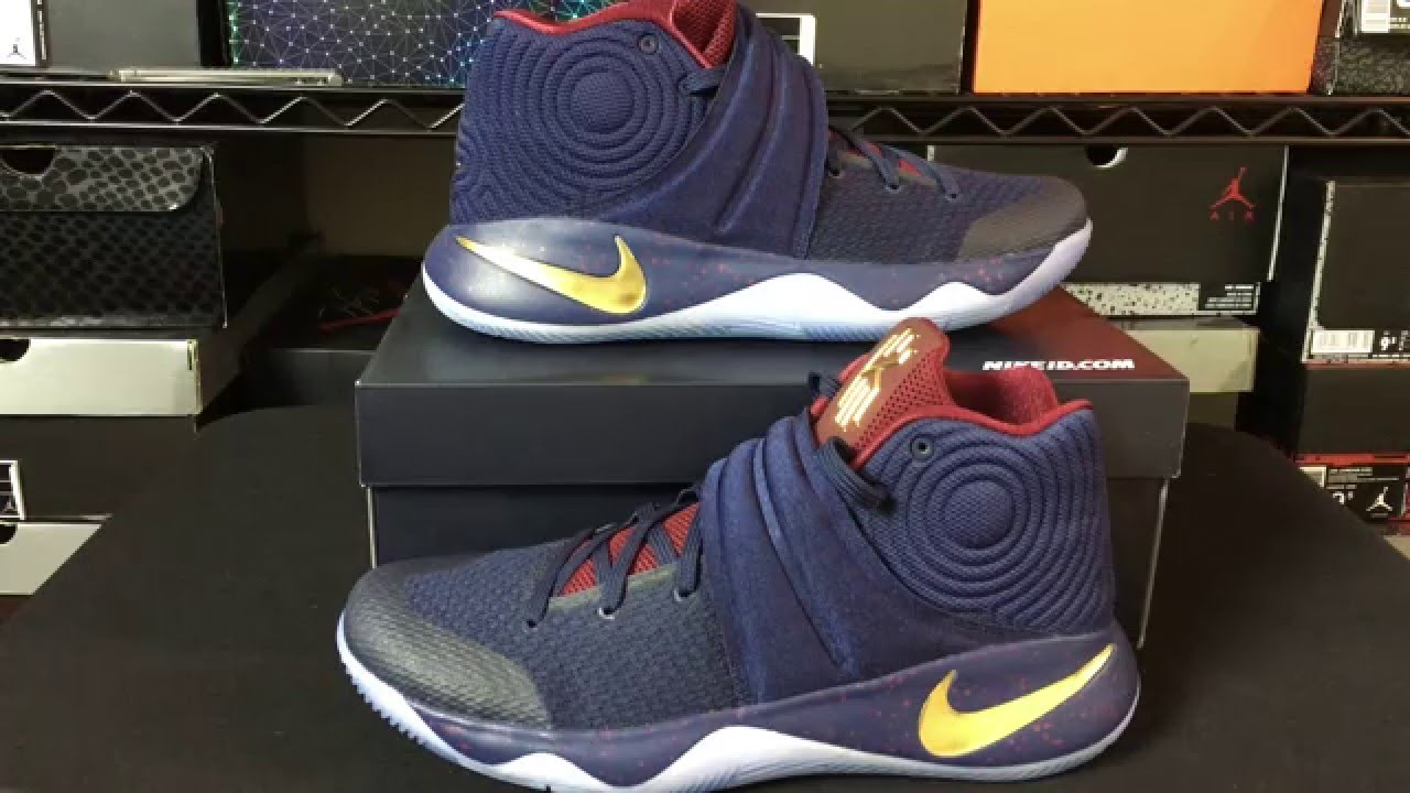 My Nike Basketball  NikeID Kyrie 2 II Unboxing!