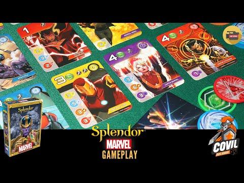 Splendor Marvel - Regras & Gameplay Ao Vivo