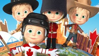 Masha and the Bear - Around the world in one day