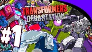 Transformers Devastation: Walkthrough Part 1 Stop Devastator