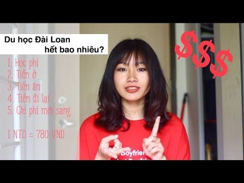 [Vlog 4] Du học Đài Loan hết BAO NHIÊU TIỀN?   Cost of studying in Taiwan   Nuti in Taiwan 🇹🇼️